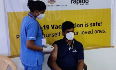 Rapido collaborates with Chennai City Corporation for free COVID-19 vaccination drive