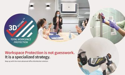 Sharp introduces 3D Secure – Total Workspace Protection solution