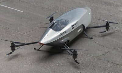 World's first flying electric car takes test flight in Australia