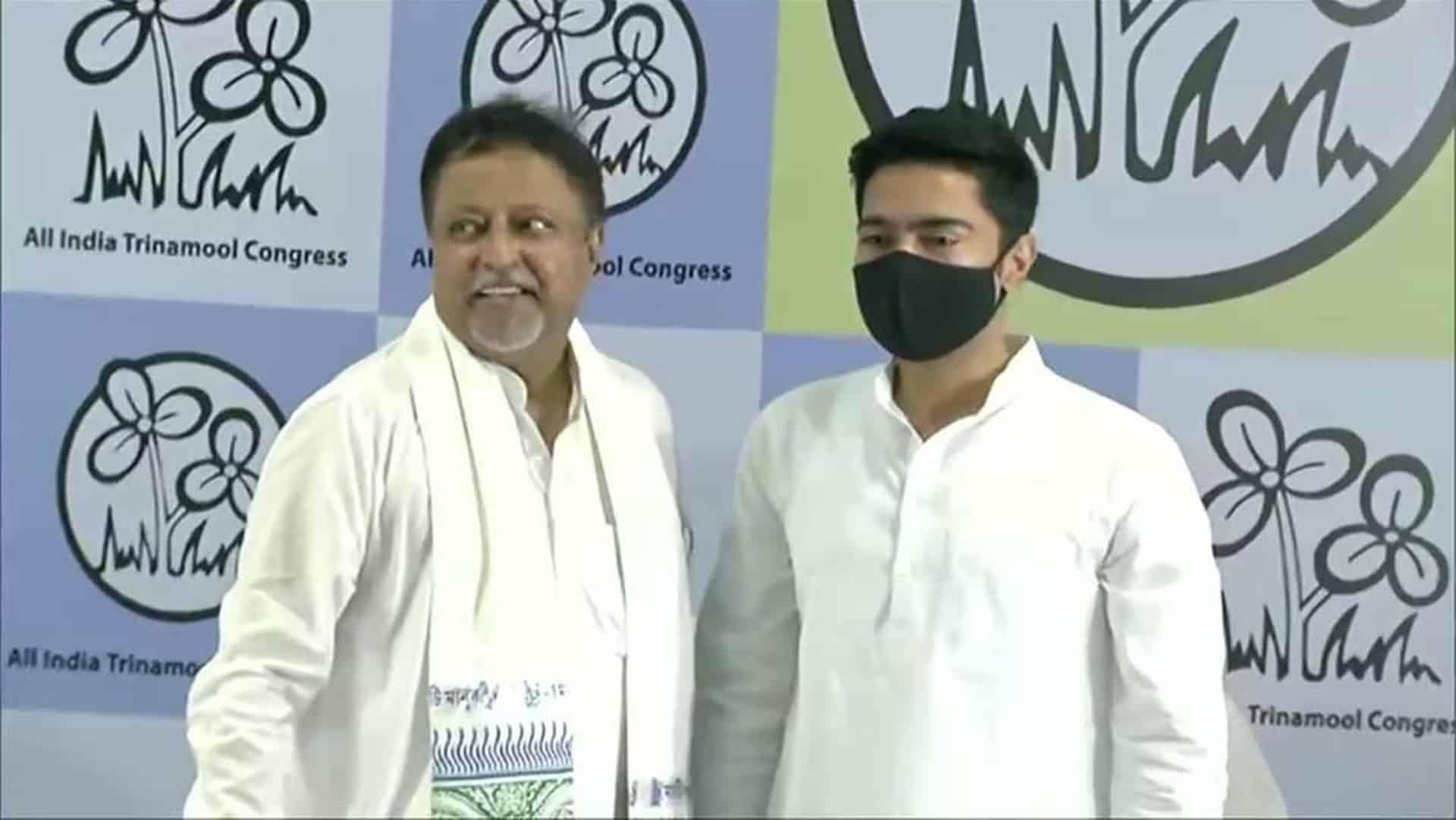 mukul roy returns to BJP