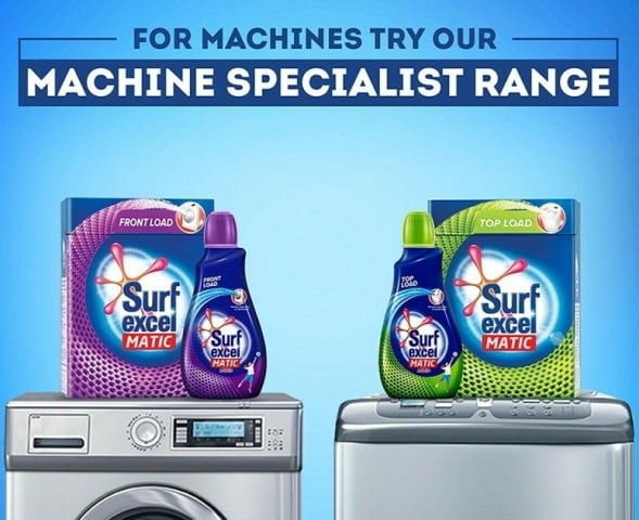 Surf Excel launches single use soluble liquid detergent - 3 in 1 Smart Shots