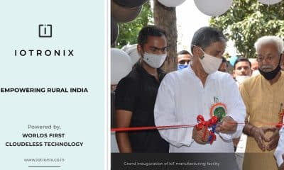 To boost #MakeInIndia and #AtmanirbharBharat, IoTronix inaugurates IoT manufacturing facility in UP