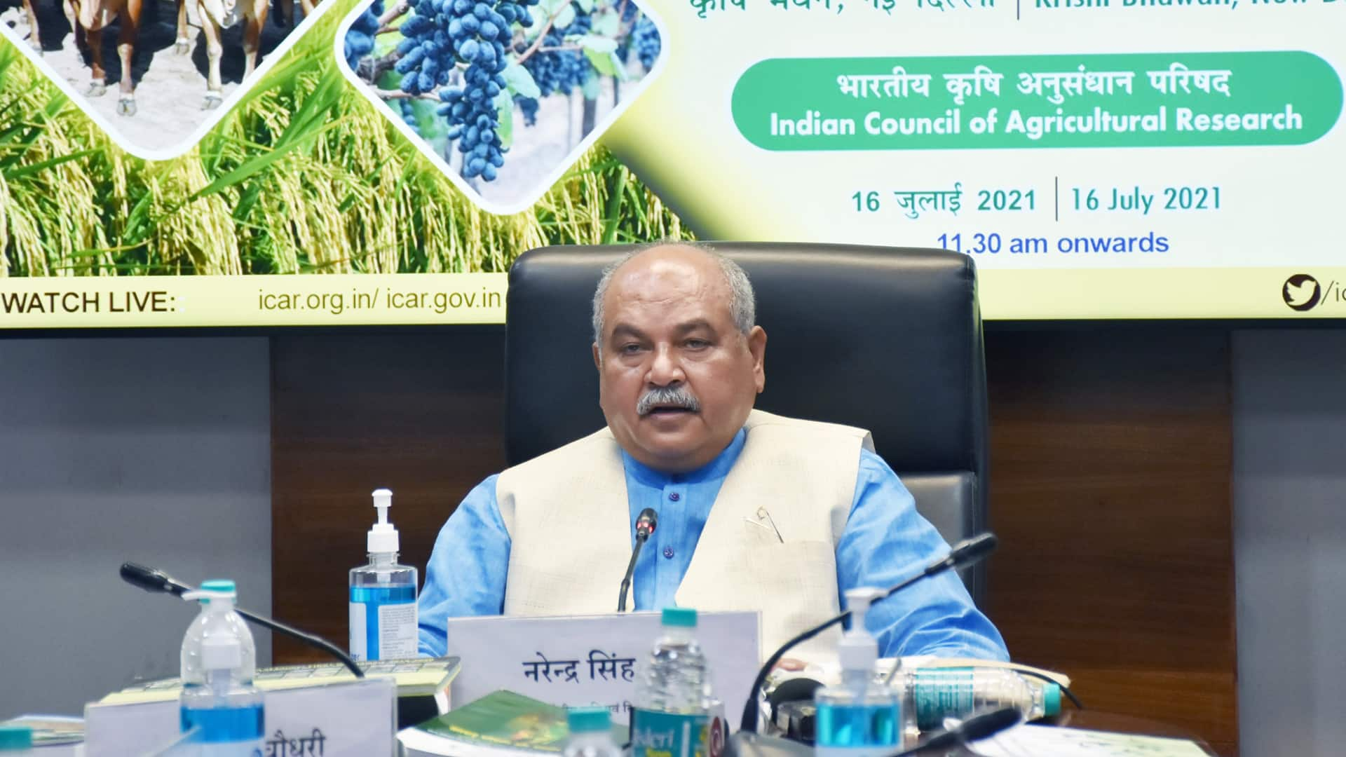 Tomar urges farmers to take benefit of govt's agri-reforms; launches Kisan Sarathi app
