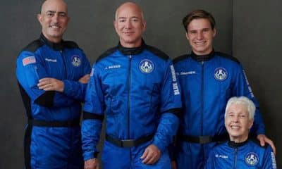 Here's what Amazon founder Jeff Bezos said after his historic space flight