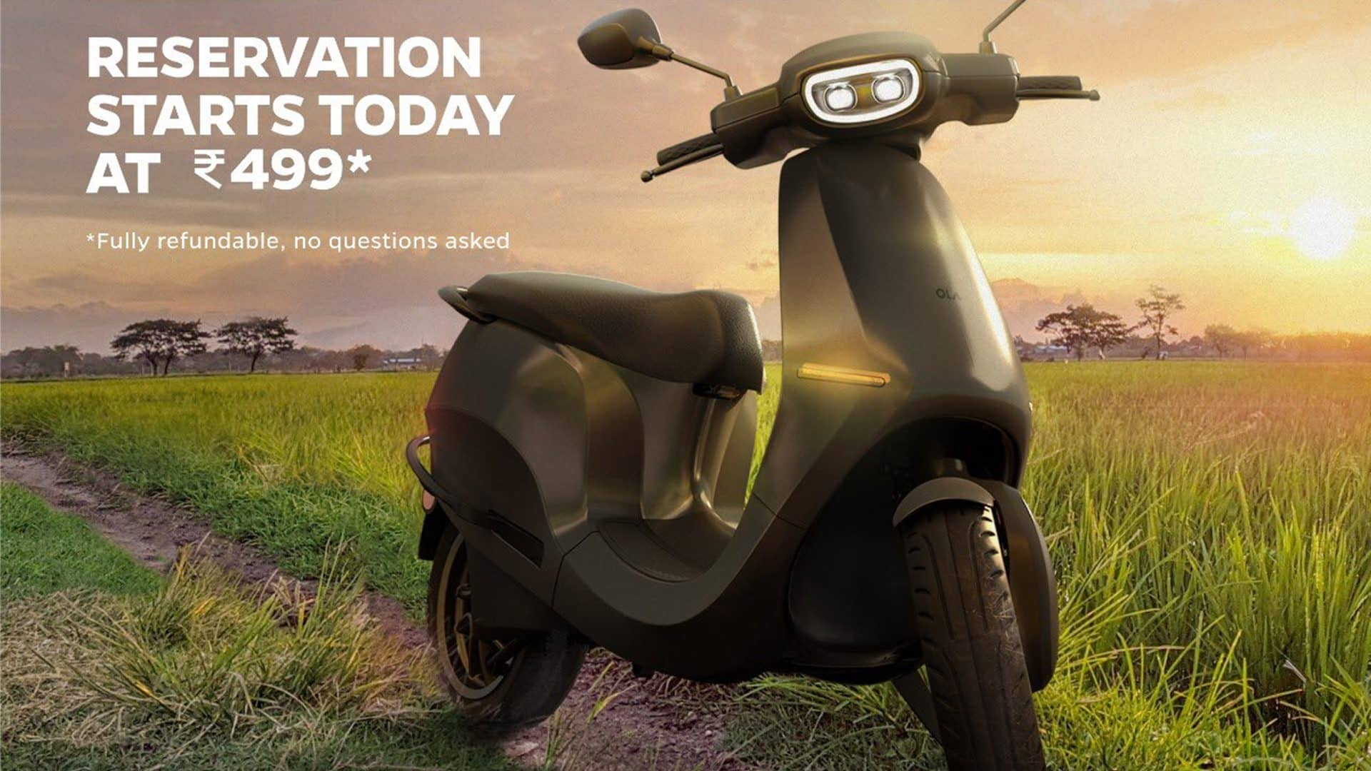 Bookings for Ola electric Scooter begin at Rs 499: Here's what we know so far