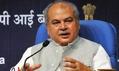 Over 21.40 lakh farmers enrolled under PM-KMY: Narendra Singh Tomar