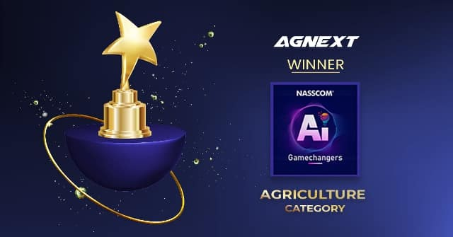 AgNext wins NASSCOM AI Game Changers award in agriculture