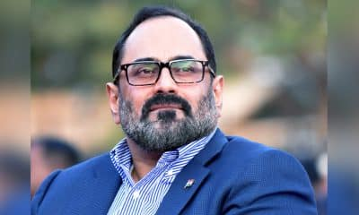 Centre committed to providing jobs for youth: Rajeev Chandrasekhar