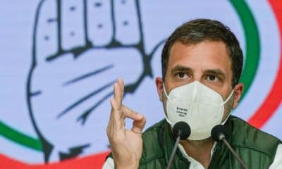 Facebook removes Rahul Gandhi's post for policy violation