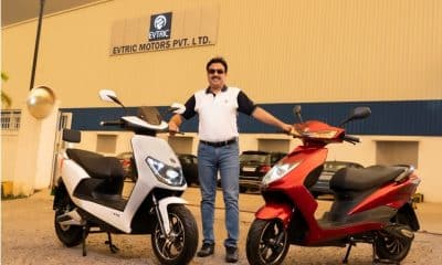 EVTRIC Motors launches two electric scooters – AXIS and RIDE