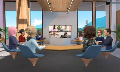 """Facebook launches Horizon Workrooms, a virtual reality app for the """"new normal"""""""