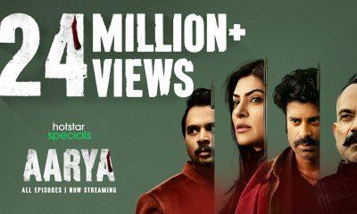 Sushmita Sen's web series Aarya nominated in 2021 International Emmy Awards for Best Drama Series