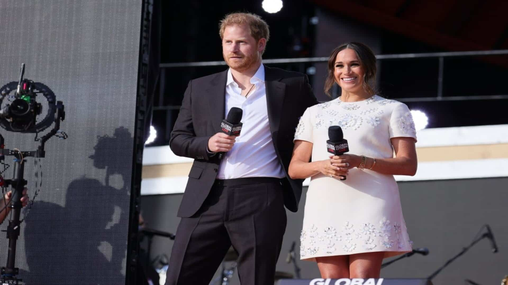 """Prince Harry and Meghan advocate for COVID-19 vaccine access to be treated as """"basic human right"""""""