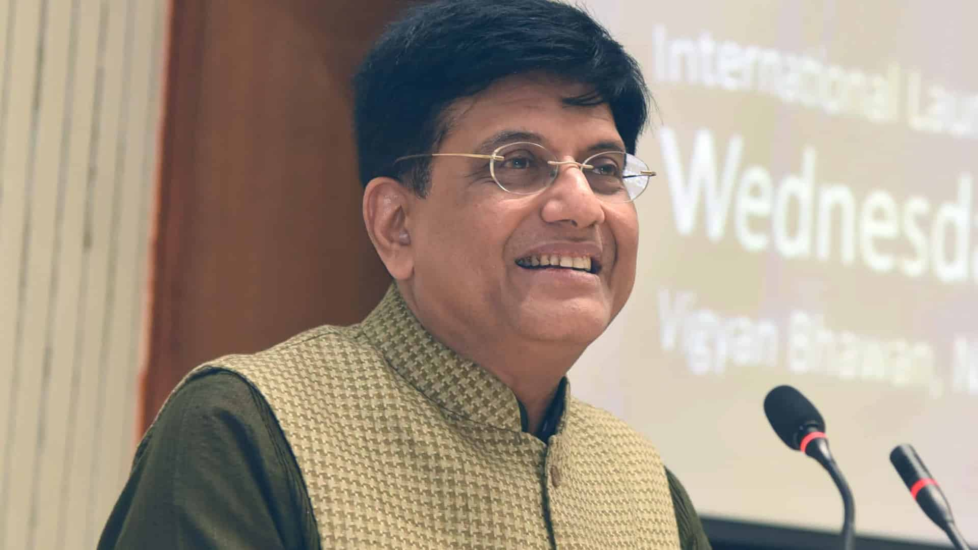 Must aim for $100 bn textiles export target: Goyal