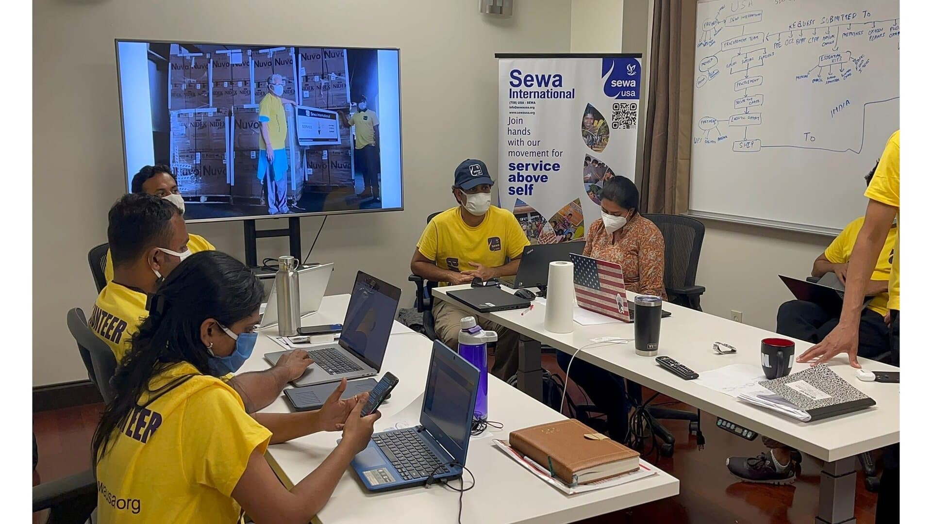 Sewa International ready for third wave of COVID-19 infections, revamps healthcare, oxygenation and telemedicine