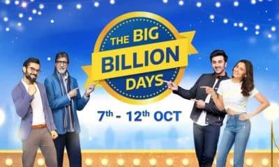 Flipkart announces Big Billion Days sale from October 7 to 12
