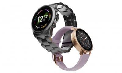 FOSSIL unveils Gen 6 smartwatches with Snapdragon Wear 4100 Plus.