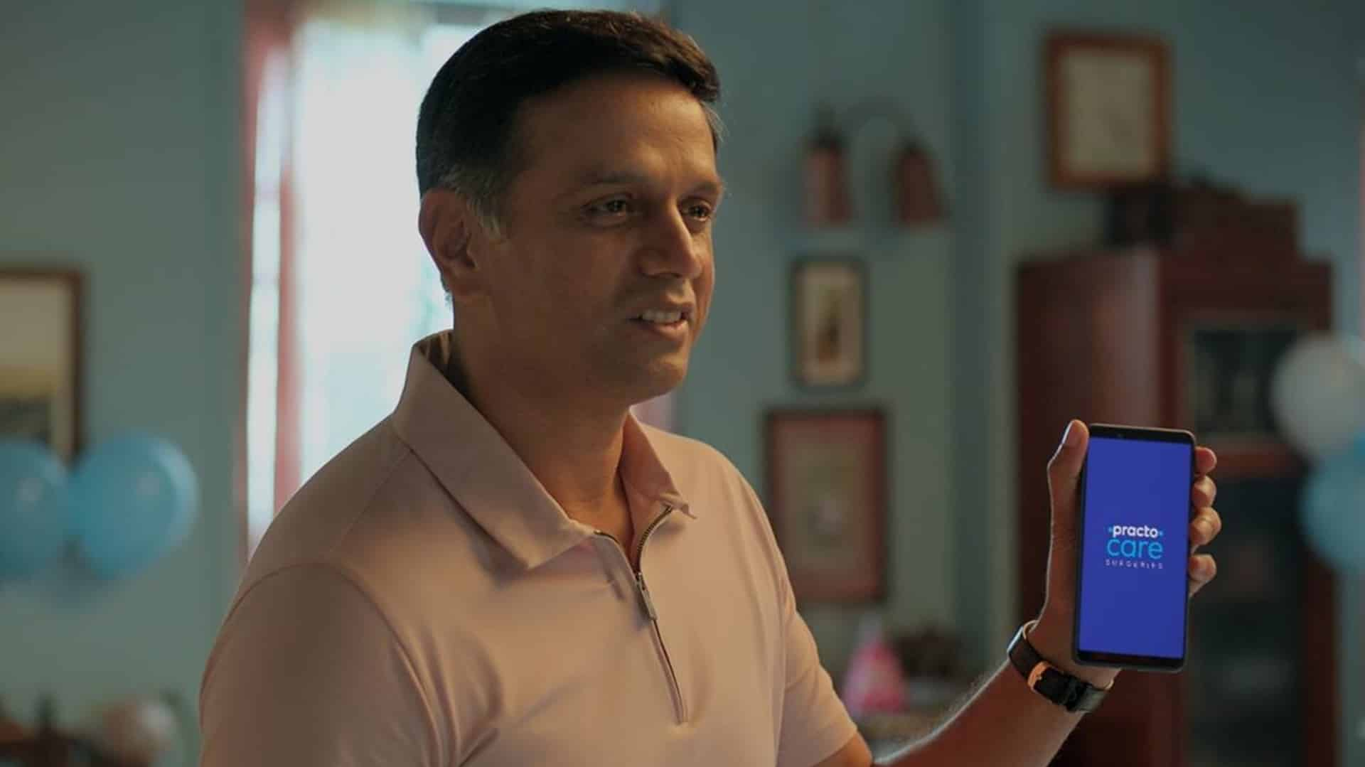 Practo ropes in Rahul Dravid as brand ambassador