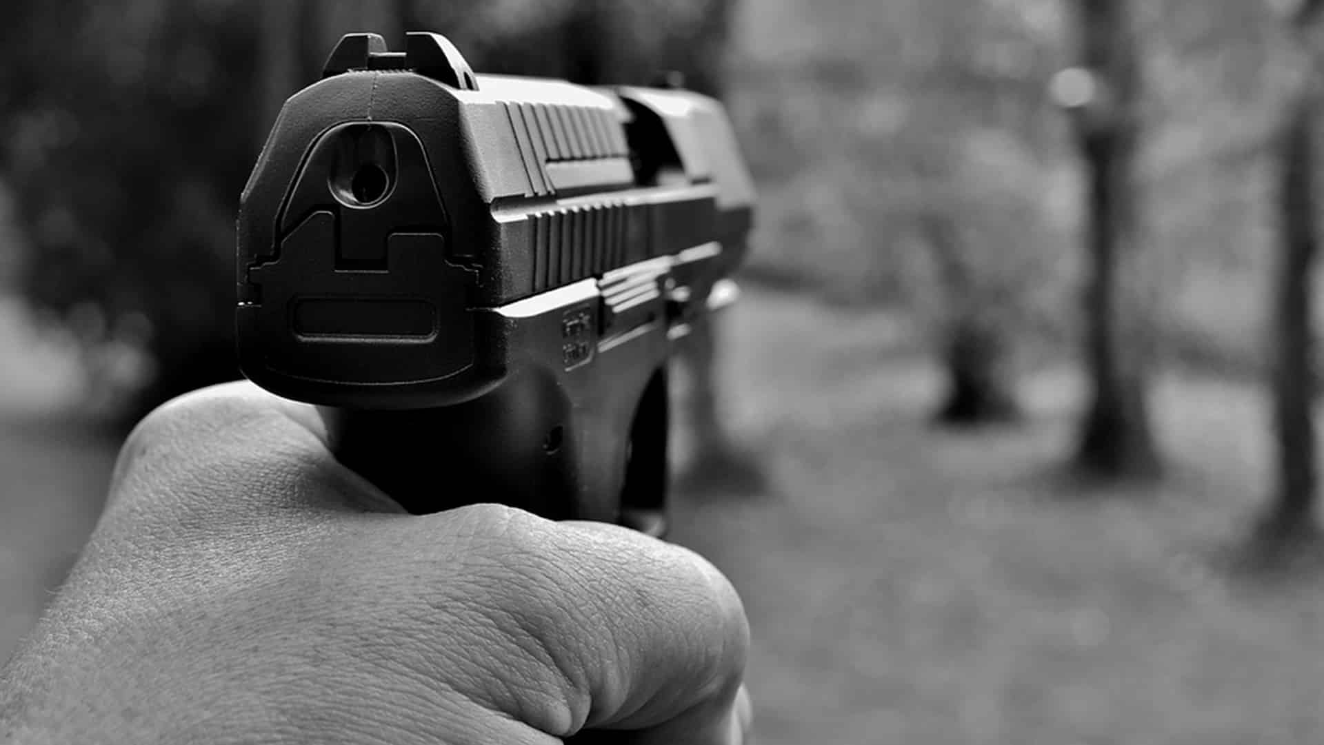 shootout at Delhi's Rohini court complex