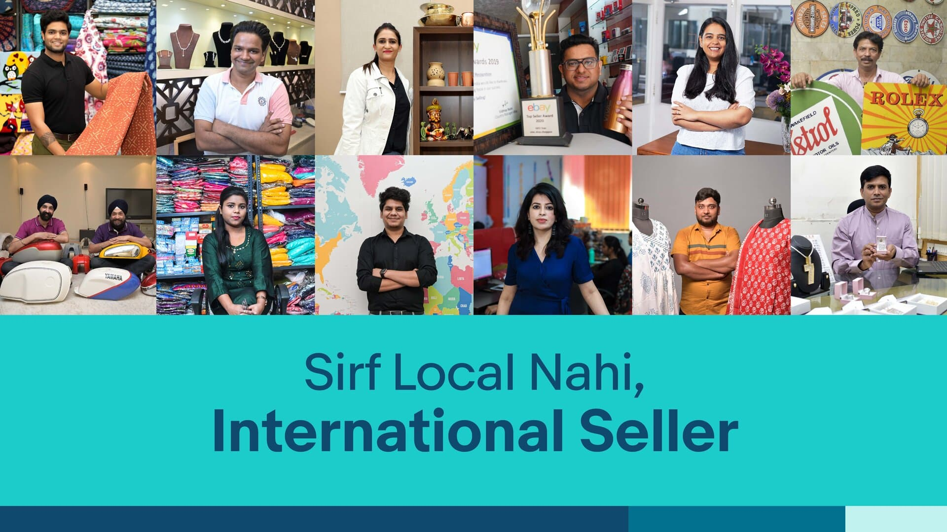 eBay launches 'Sirf Local Nahi, International Seller' campaign
