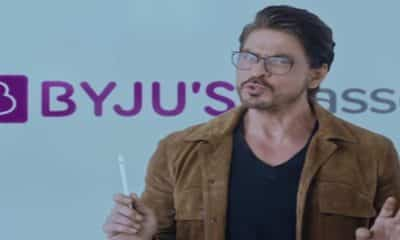 Byju's stops Shah Rukh Khan related promotions over Aryan Khan's arrest in drug case