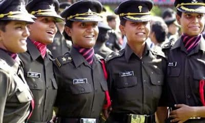 After winning court battle, 39 women army officers get permanent commission